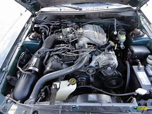 1998 Ford Mustang V6 Coupe Engine Photos