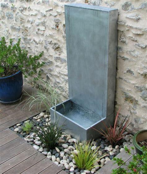 creer une fontaine de jardin installer une fontaine de jardin moderne