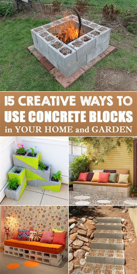 unique ways to use 15 creative ways to use concrete blocks in your home and 4