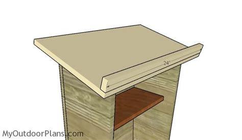 podium woodworking plans myoutdoorplans