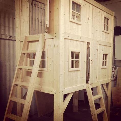 family project diy loft bed bunk bed playhouse
