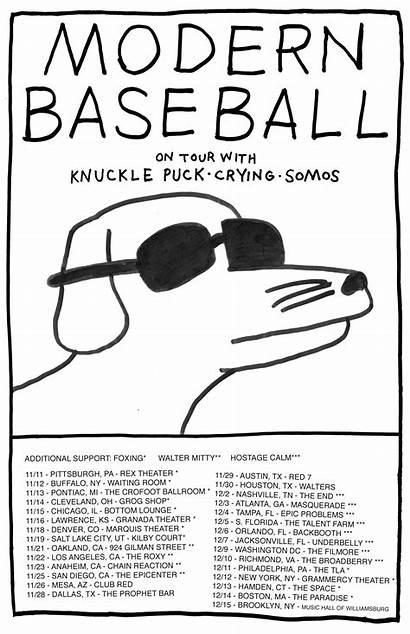 Baseball Modern Knuckle Puck Tour Band Somos