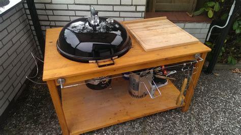 grilltisch selber bauen grilltisch f 252 r die weber kugel 57er grillforum und bbq www grillsportverein de