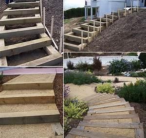 Terrassen treppen holz selber bauen for Terrassen treppen