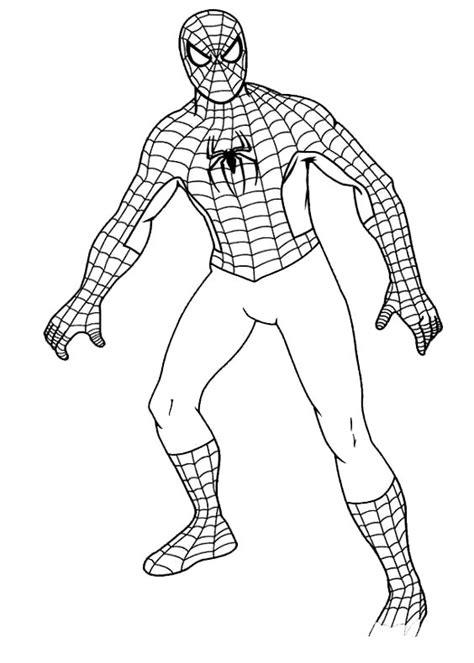 spiderman colorare fredrotgans