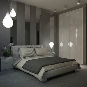 couleur chambre adulte 26 idees cool pour vous inspirer With idee deco chambre adulte gris