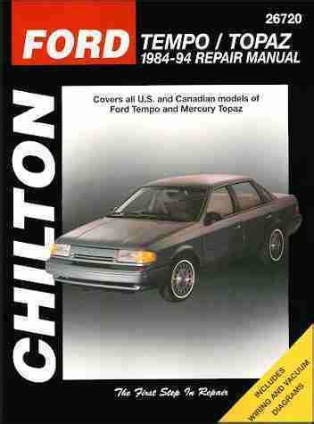 service repair manual free download 1991 ford tempo auto manual sell ford tempo and mercury topaz repair shop service manual 1991 1992 1993 1994 motorcycle in