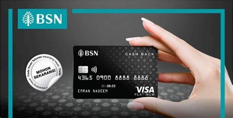 Bank secured visa card, you can choose to: BSN Launches New BSN Visa Cash Back Credit Card, Offers Up To 5% Cashback