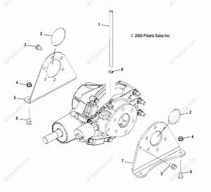 Polaris Side By Side 2007 Oem Parts Diagram For Gearcase