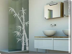 Sichtschutz Für Fensterscheiben : gr ser und bambus aufkleber f r fensterscheiben und glas ~ Markanthonyermac.com Haus und Dekorationen