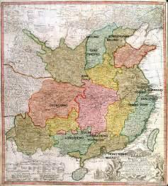 Chinese Ancient China Map