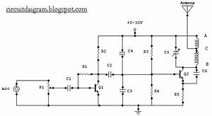 Circuit Diagram  1 5 Watt Fm Transmitter Circuit Diagram