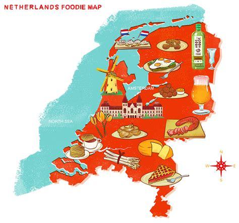dutch foods map   eat traditional dutch food