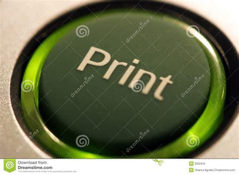 Print Button stock photo. Image of word, prints, print ...