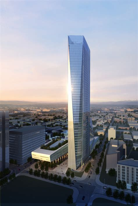 modern city skyscraper  model max cgtradercom