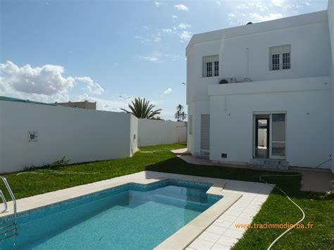 maison a vendre 5 chambres achat villa avec piscine à djerba en tunisie vente villa