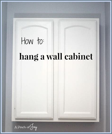 easy way to hang cabinets how to hang a bathroom cabinet on the wall 28 images