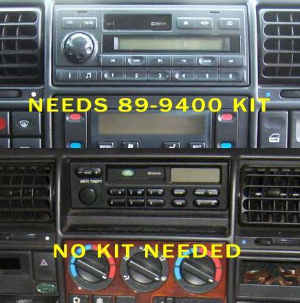 Land Rover Discovery Headunit Audio Radio Wiring