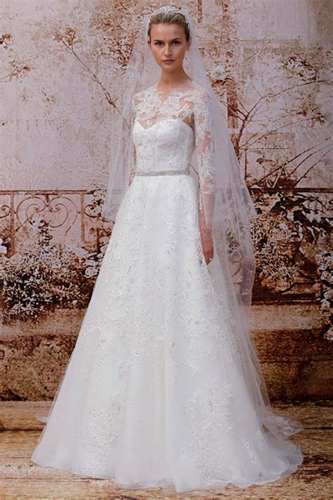 Monique Lhuillier Fall 2014 Bridal Collection Wedding