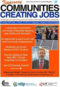 Communities Creating Jobs – a learning and networking ...