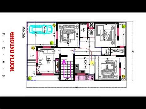 3 BHK 30X50 ft BEST HOUSE PLAN WITH CAR AND BYKE PARKING