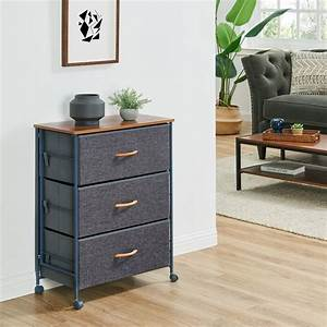 Ebern, Designs, Pancratius, Fabric, 3, Drawer, Storage, Chest