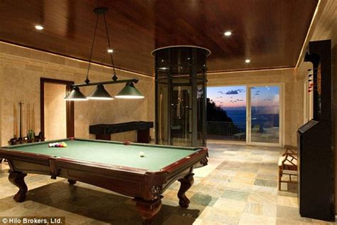 how big is a bar pool table justin bieber rents 10k a night mansion in hawaii with