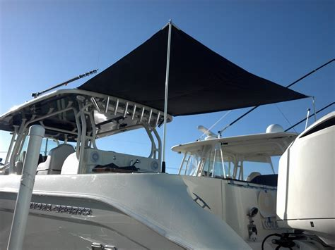 Boat T Top Shade by Boat Shade Kit Project The Hull Boating And