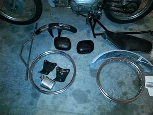 1967 Harley Davidson Aermacchi Sprint Ss 250 Parts Bike