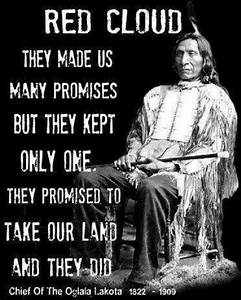 Chief Red Cloud... Sioux Chief Quotes