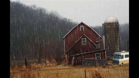 rain  barn ambience white noise youtube