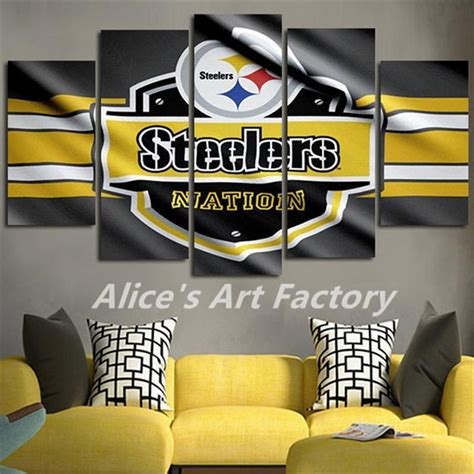 Steelers Wall Art  Wall Art Ideas. Unfinished Corner Cabinets For Dining Room. Rooms To Go Console Table. Sports Themed Bedroom Decor. Living Room Tables. Beach Theme Party Decorations. Used Prom Decorations. Custom Wall Decor. Beds At Rooms To Go