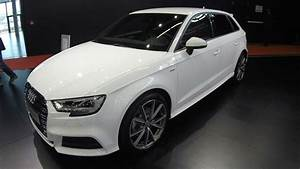 Audi A3 Sportback S Line    Ibis White Colour