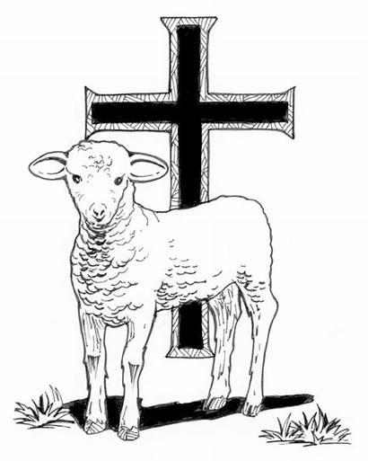 Catholic Symbol Lamb Paschal Baptism Worksheets Symbols