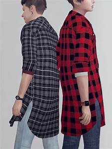 kk sims flannel shirts m sims 4 downloads