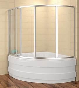 Badewanne 120 Cm : badewannenaufsatz 120x120cm duschbadewanne 120x120x135 cm lxbxh duschabtrennung badewanne 4 teilig ~ Markanthonyermac.com Haus und Dekorationen