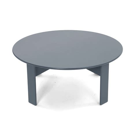 23.5l x 43.5w x 1/5h space between legs: Round Outdoor Coffee/Cocktail Table | Loll Designs
