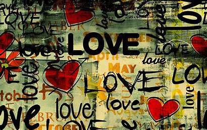 Hearts Graffiti Abstract Typography Wallpapers Toplist Updated