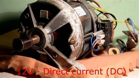 Motor Electric Second by How To Wire Washer Machine Electric Motor Part 2
