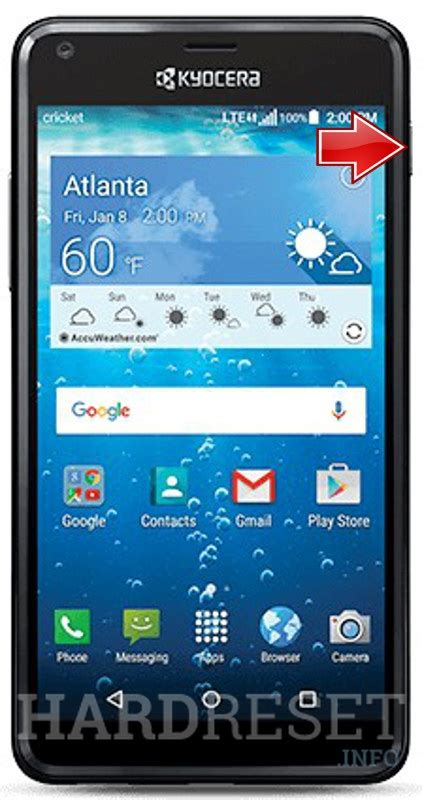 how to reset a kyocera phone kyocera hydro view c6742 how to soft reset my phone