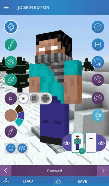 skin editor  minecraft  apk  android