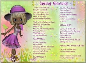 Spring Cleaning Quotes and Sayings