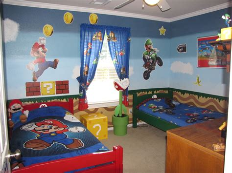 Mario Bros Bedroom by Mario Brothers Bedroom Mario Decorar Habitacion
