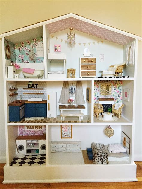 caught  grace barbie dollhouse diy