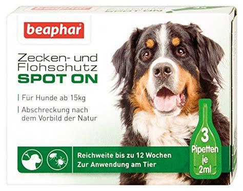 zeckenschutz fuer hunde test  vergleich oktober