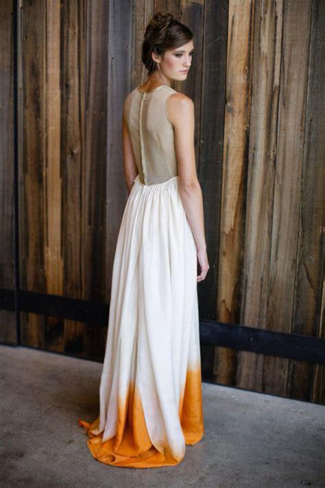 style crush dip dye wedding dresses diy instructions