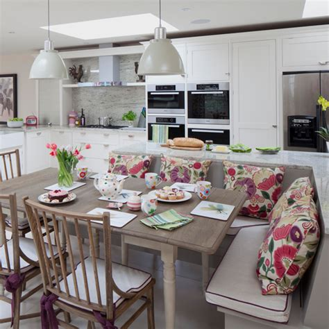 kitchen diners   rocking  bench seat ideal home