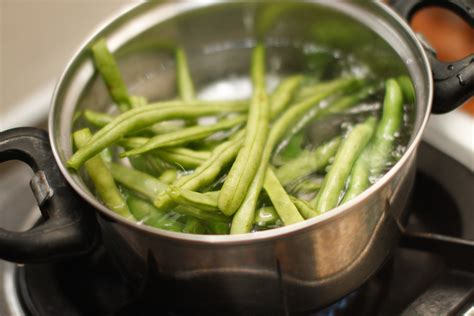 blanching green beans blanch fresh green beans white gold