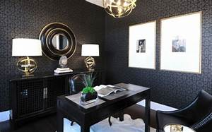 Decorating, With, Black, Furniture, 10, Images