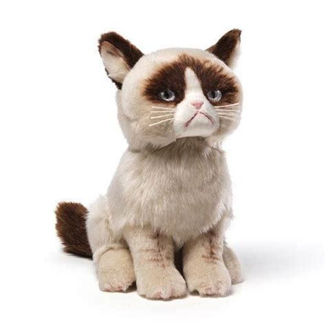 grumpy cat 10 inch plush gund grumpy cat plush at